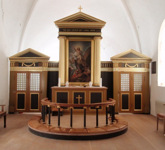 Frydendal kirke Altertavle 032