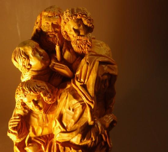 Middelalderlig figurgruppe144